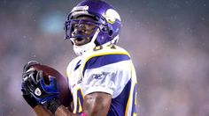 Randy Moss, Minnesota Vikings- Ranking 16 greatest pass catchers in NFL history.