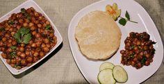 Aloo Chole without Onion and Garlic ~ Garbanzo Bean Potato Curry