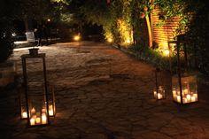 Fanales con velas