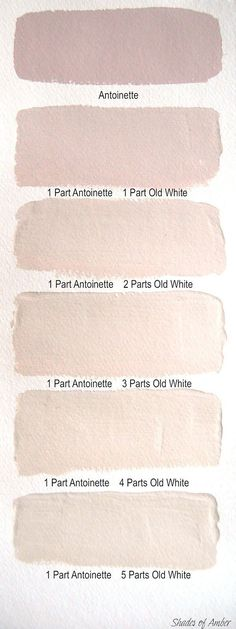 Blush wall colors using Annie Sloan decorative Chalk Paint®