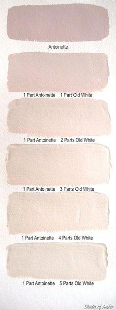 Oud roze muur