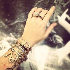 ojos and arrow cuffs via jen altman I love this!! I want it!