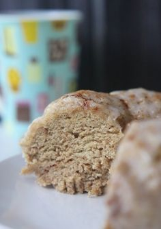 cinnamon donut cake: egg free, dairy free and gluten free!