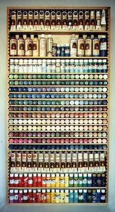 Bruce's Woodworks - Paint Shelf