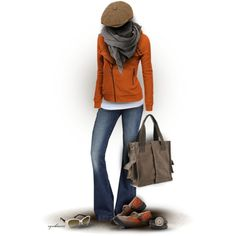 """Pumpkin & Nutmeg"" by cynthia335 on Polyvore"