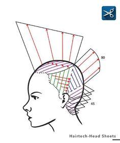 Head sheet # #hairtech #hairdressing #haircut #hairbrained #sassoon #haireducation #hair #hairlife #hairpassion