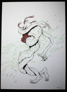 Inveja #illustration #draw #painting #urbanart #poster