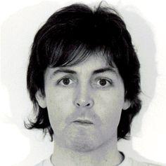 Paul McCartney- McCartney II Session Photo,1980-MANY FACES