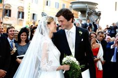 The Bride: Elisabetta Maria Rosboch von Wolkenstein, an arts and culture reporter and the only child of Italian aristocrats.  The Groom: Prince Amedeo of Belgium They were married on July 5, 2014 at The Basilica of Our Lady in Rome, Italy