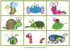 Bug Matching Game - printables