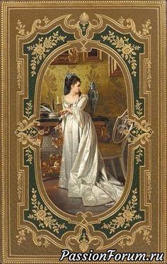 Raindrops and Roses Vintage Diy, Vintage Labels, Vintage Cards, Vintage Postcards, Vintage Images, Images Victoriennes, Etiquette Vintage, Arte Country, Victorian Art