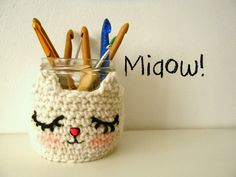 Miaow! Sweet free pattern in French by La souris aux petits doigts: