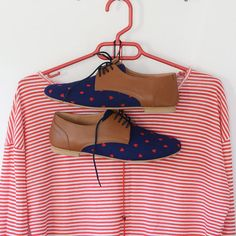 Valentine Shoes- Leather shoes-Women Oxford flat Shoes-Women Shoes- Flat Shoes -blue red Leather Shoes-Unique Shoes-Handmade
