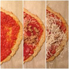 If you're avoiding wheat, grains, gluten, carbs, or all of the above and you love pizza like I do, this is a really tasty alternative to wheat-based crust. It's also really easy to thro…