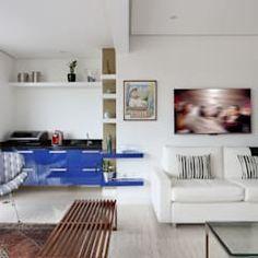 Salas de estilo moderno por Antonio Armando Arquitetura & Construção