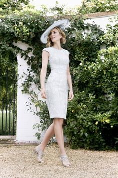 John Charles 2016 26016 wedding outfit perfect for modern mother of the bride dress and jacket in luxury jacquard with coordinated hat Wedding Suits, Wedding Bride, Wedding Ideas, Sapphire Dress, Mother Of The Bride Suits, John Charles, Glamorous Dresses, Occasion Wear, Dress Collection
