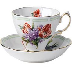 Royal Albert - Botanical Teas - Series Tulip and Lilacs