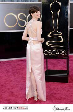 Anne Hathaway - Prada - El Palacio de Hierro #Oscars 2013 #AlfombraRojaPH