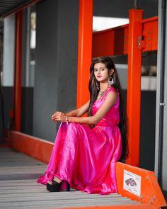 One Shoulder, Sari, Formal Dresses, Beautiful, Instagram, Posts, Simple, Fashion, Saree