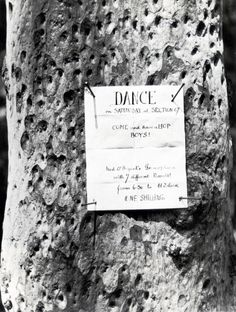 | E.O. Hoppé, Dance sign, New South Wales, 1930 |