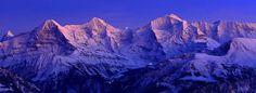 Eiger, Mönch und Jungfrau