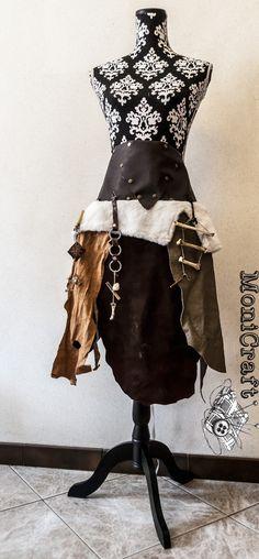 Savage Leather Skirt