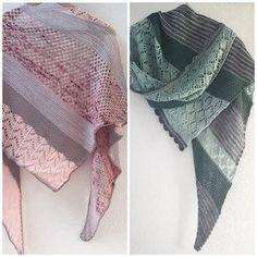 Don't stop me now shawl est une recette pour réaliser de jolis châles avec vos gros restes de finguering ( ou sport, voir light finghering).