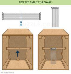 Prepare and fix the Snare