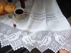 Toca do tricot e crochet: bainha aberta