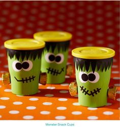 Monster treat cups