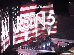 Maroon 5. So sad I missed their concert this month