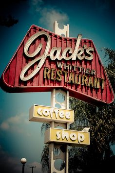 Jack's Whittier Restaurant by TooMuchFire, via Flickr