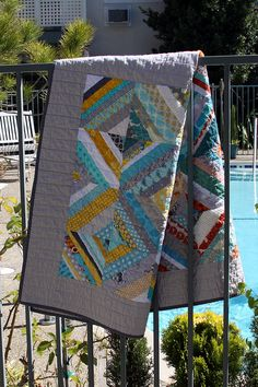 A Quilt For Two by Kelsey Creates, via Flickr