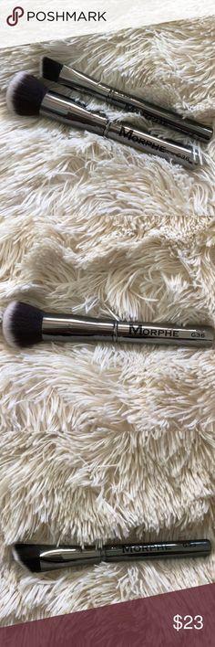 Morphe Brushes G33 - Angled Buffer G36 - Round Powder  Never been used! Morphe Brushes Makeup Brushes & Tools