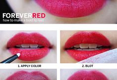 How to Make Bold Lips Last