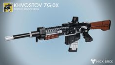 An ancient instrument of war: LEGO exotic Khvostov rifle from Destiny
