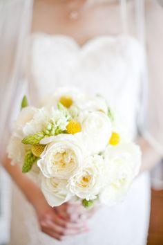 Pretty wedding bouquet - www.hotchocolates.co.uk