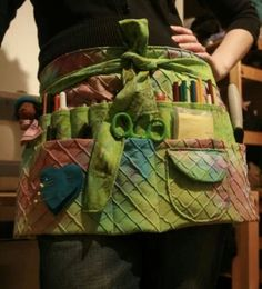 Imagine what I would accomplish if I had an apron for crafting @Wynn Harle