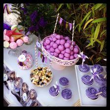 Www.candyclouds.es #mesasdulces #candybar #bautizo #bodas #comuniones  Violeta