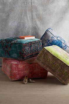Cushions for family room ... to lay on the floor. >>> bAlanya Ottoman