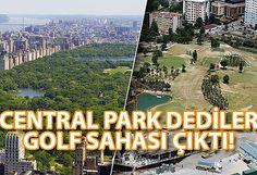 Vatandaşın Park Beklediği Yere Golf Sahası Yapıldı!