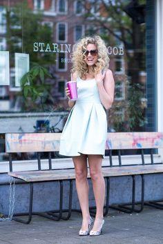 Streetstyle pastel summer #fashionchick #lookbook
