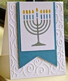 Handmade Christmas Crafts (Handmade Holiday Crafts) - My Cute Christmas Diy Hanukkah, Feliz Hanukkah, Hanukkah Cards, Hanukkah Decorations, Christmas Hanukkah, Hannukah, Happy Hanukkah, Christmas Music, Winter Cards