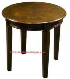 Round End Tables, Black End Tables, Marble End Tables, Winsome Wood, End Tables With Storage, Particle Board, Walnut Finish, Solid Wood, Rustic