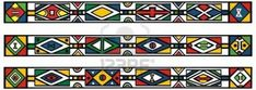 Illustration about Set of traditional african ndebele patterns - vector illustration. Illustration of africa, abstract, multicolored - 19205370 African Design, African Art, African Prints, African Style, Pattern Art, Pattern Design, Pattern Dress, Colour Pattern, Art Patterns