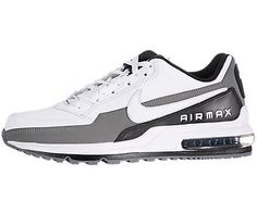 Nike Air Max LTD Mens Running Shoes 311000-119 « Clothing Impulse i like plain White athletic shoes...with minimal trim colors. NOTHING NEON.