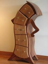 wouldnt this be fun for a beauty and the beast bedroom??? I can just see the thought bubbles this dresser would have above its head... Gurl? Those shoes with that dress????