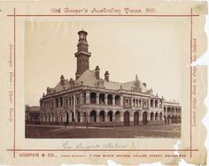 Fire Brigade Station, Eastern Hill - 1890c | East Melbourne Historical Society