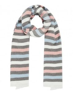 Knit Stripe Scarf