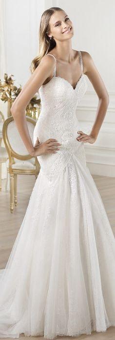 Pronovias Lary at A Princess Bride Couture www.princessbridecouture.com